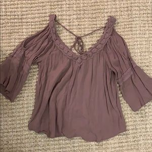 Urban Outfitters cold shoulder top